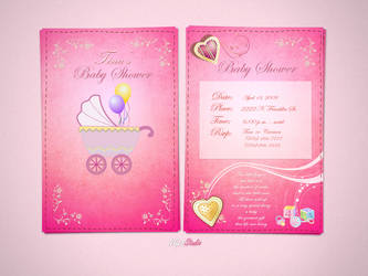 Baby Shower Invitations by NG25Lab