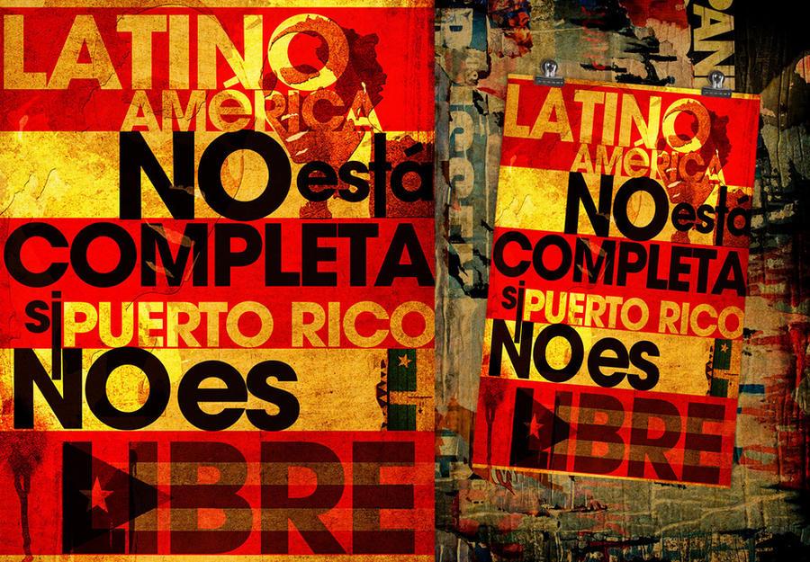 LatinoAmerica sin Puerto Rico by NG25Lab