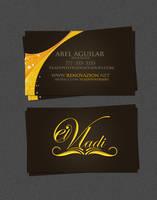 El Vadi- business card by NG25Lab