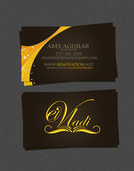 El Vadi- business card by NG25Lab