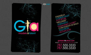 GIA Models and Talent BCards