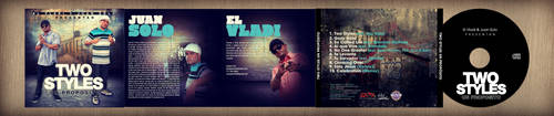 CD Design: Vladi y Juan Solo - Two Style Un Propos by NG25Lab