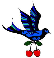 Cherry Bird by Kithar