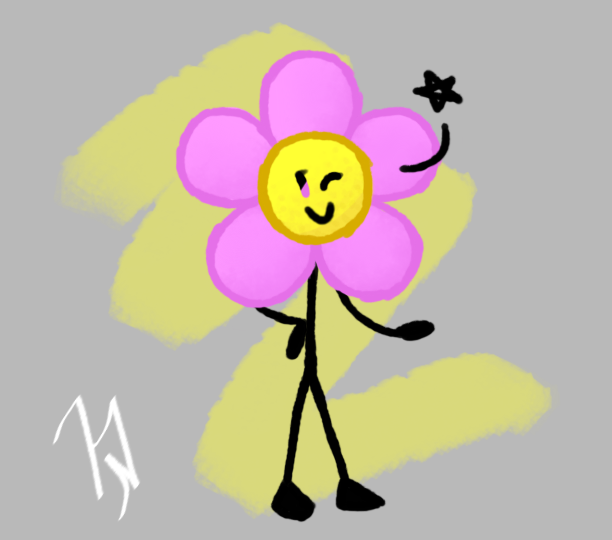 Flower (BFB Character Drawings 3) by AdventurerK1tty on