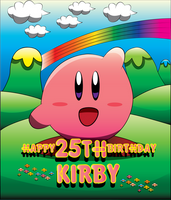 Happy 25TH Birthday, Kirby!! by CreamsFriend