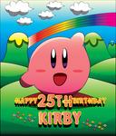 Happy 25TH Birthday, Kirby!!
