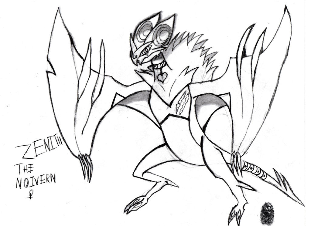 noivern coloring pages - photo#16