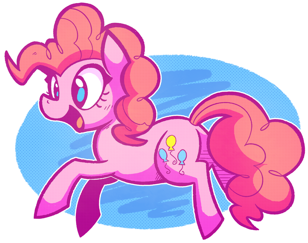 Pinkie Pie by Mister-Markers
