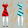 Variations on Lightning dress by hippopotamusjames