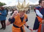 Goku Super Saiyan Cosplayer