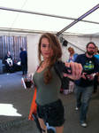 Lara Croft Cosplayer