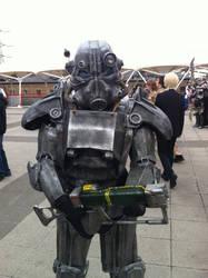 Brotherhood Of Steel Cosplayer by Collioni69