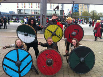 Viking Cosplayers by Collioni69