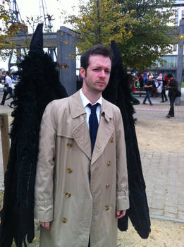 Castiel Cosplayer (With Wings)