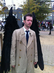 Castiel Cosplayer (With Wings) by Collioni69