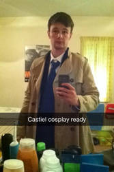 Castiel Cosplay Preview by Collioni69