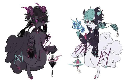 Devilish Carneval Opia Adoptable (OPEN-PRICE DROP)