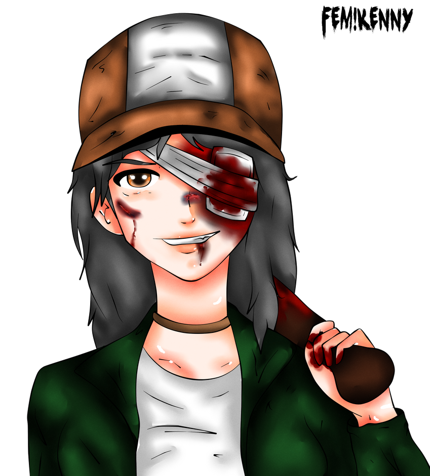 Fem!Kenny by uberhaxorerin
