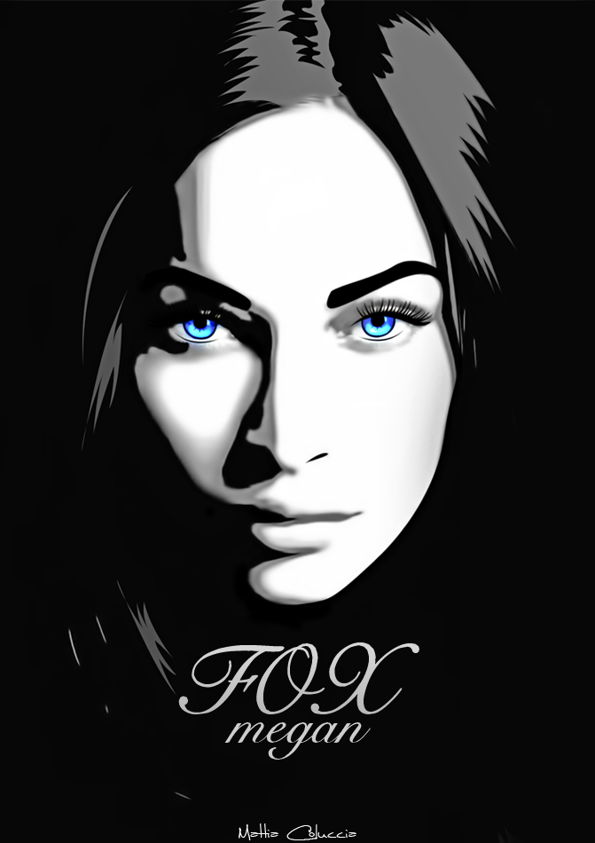 Megan Fox Mix Art by mattH27