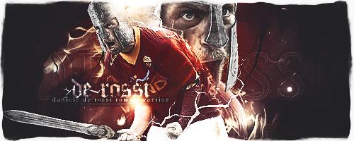 Daniele De Rossi Roman Warrior by mattH27