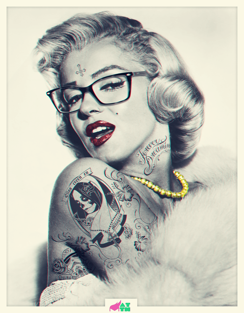 MARILYN MONROE SWAG by mattH27