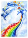 Rainbow Dash and the Wonderbolts