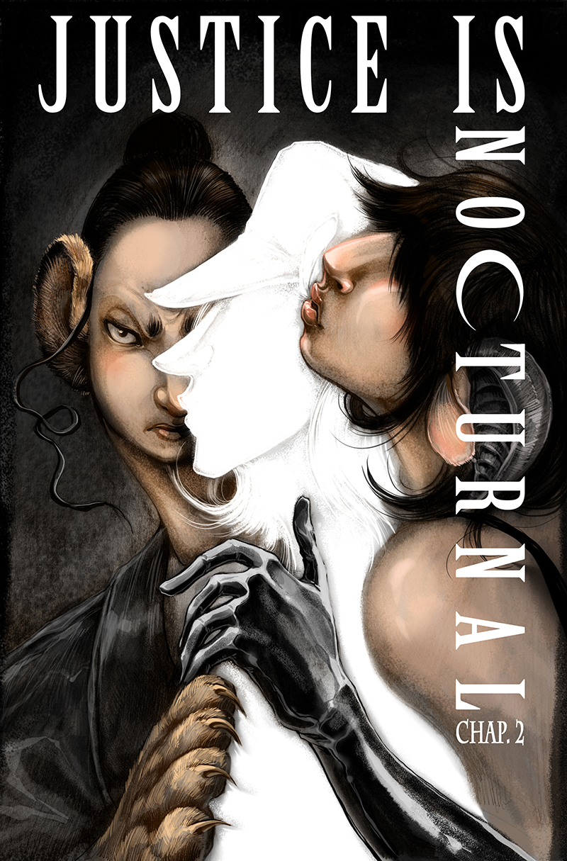 Justice Is Nocturnal chapter 2 cover by fleebites