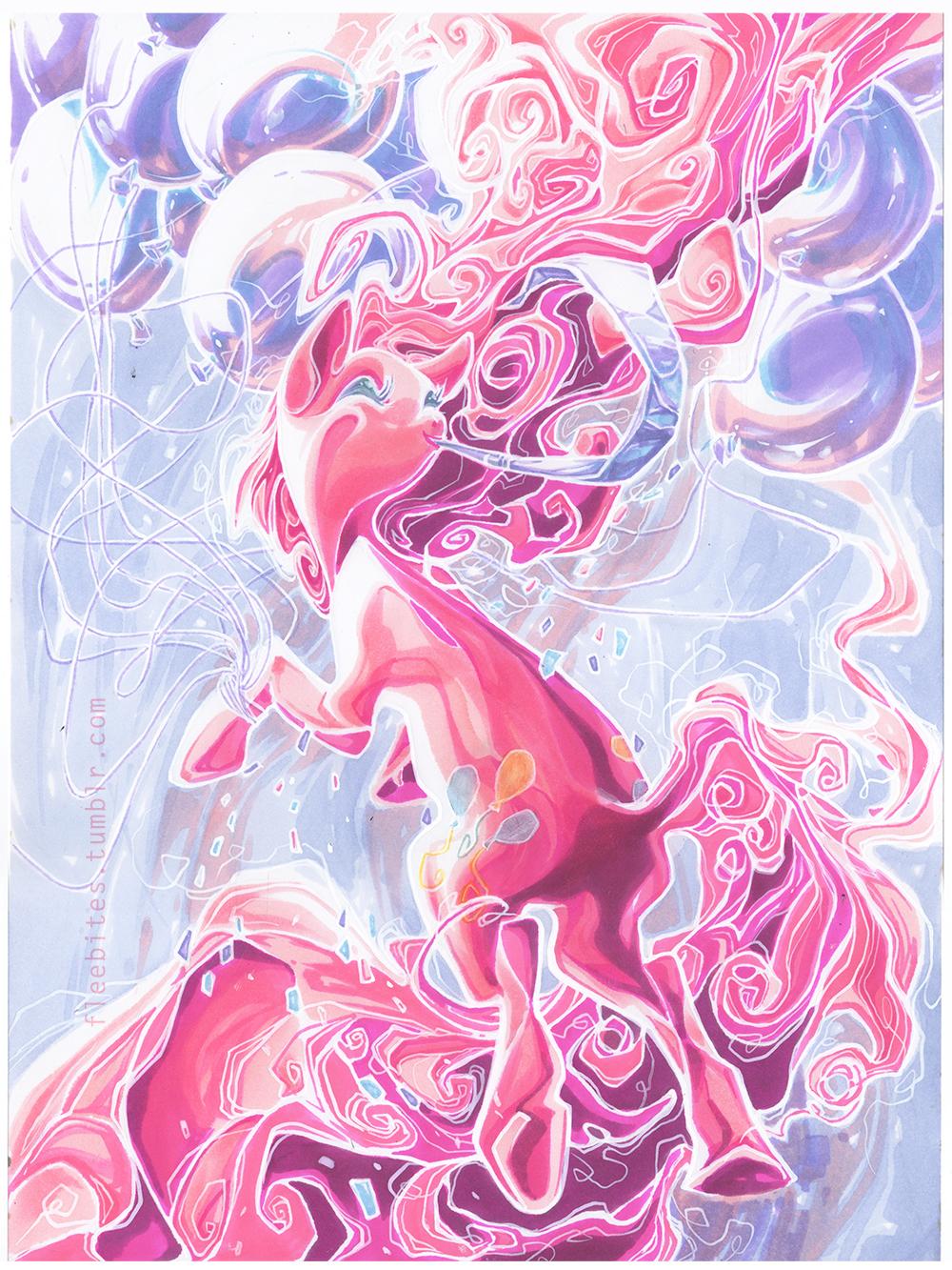 Pinkie Pie by fleebites