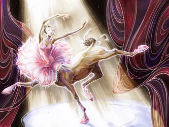 Centaur Ballerina by fleebites