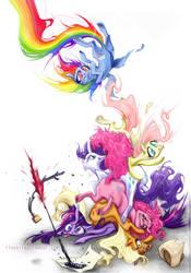 Pony Pile by fleebites