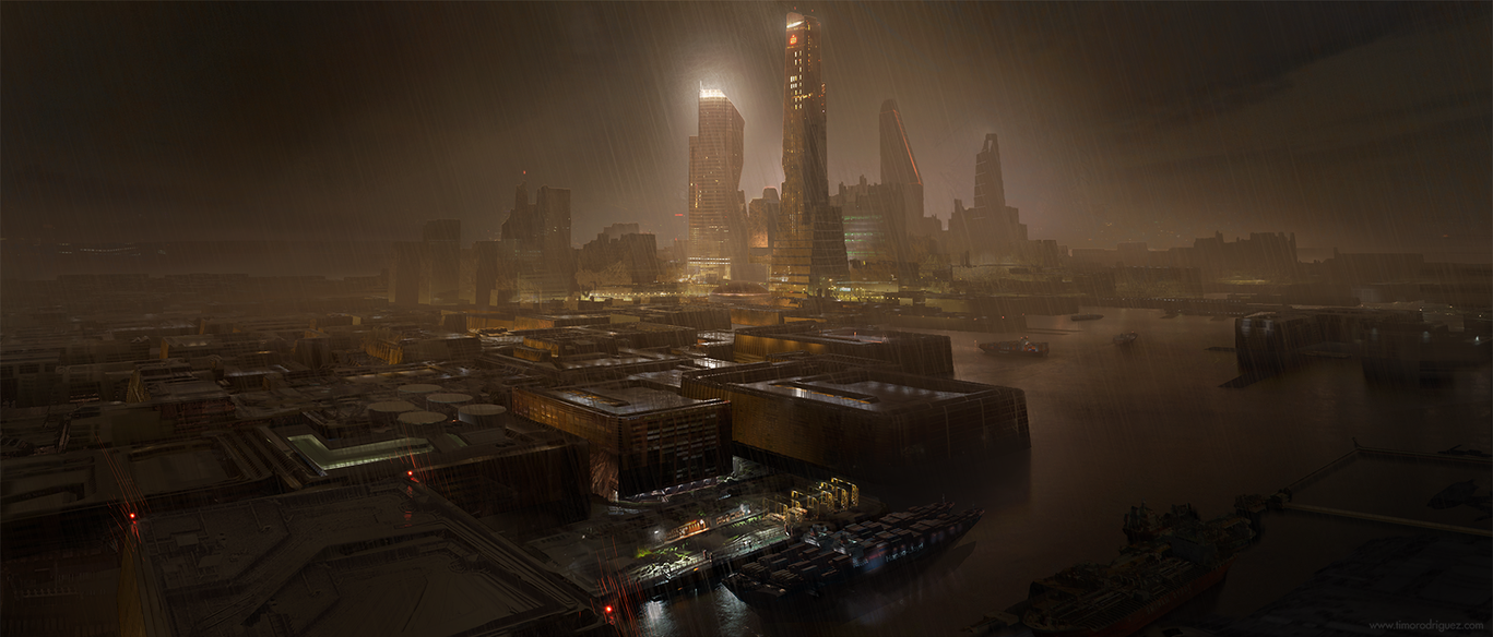 Scifi Port by timothy-rodriguez
