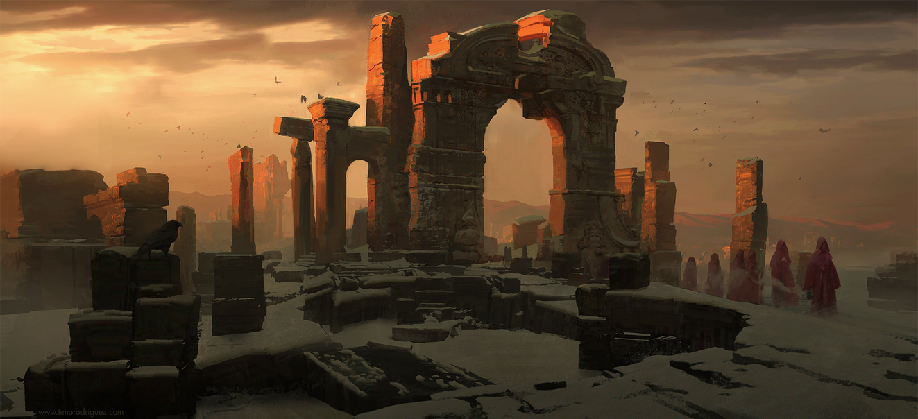 Red ruins by timothy-rodriguez
