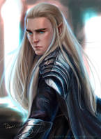 Thranduil-AS A KING by pastellZHQ