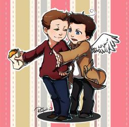 Supernatural_Dean+Cass