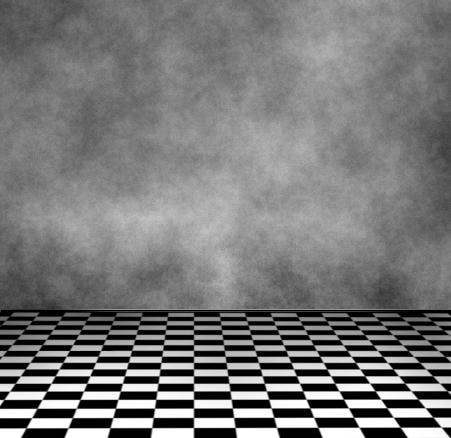 Checkered floor room by icedragonenflamed on deviantart for Black and white check floor