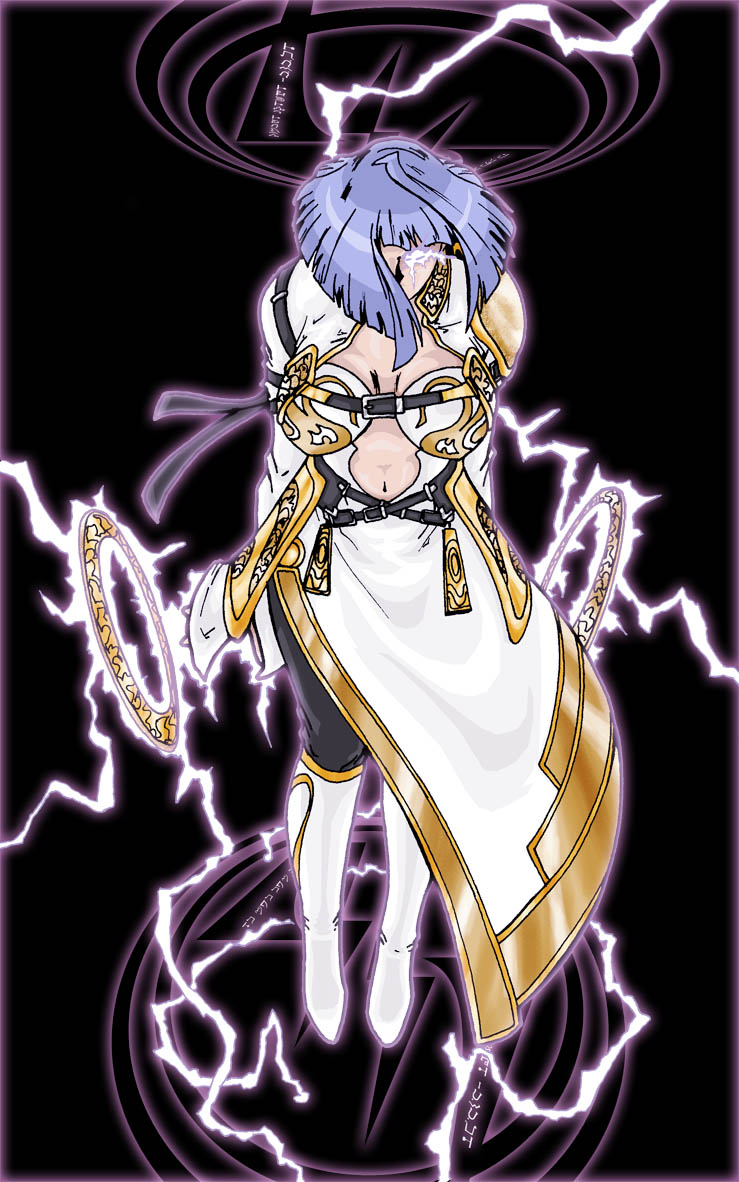 Godess of lightning by Sakuseii