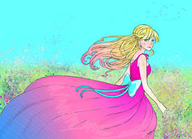 Girl of the wind