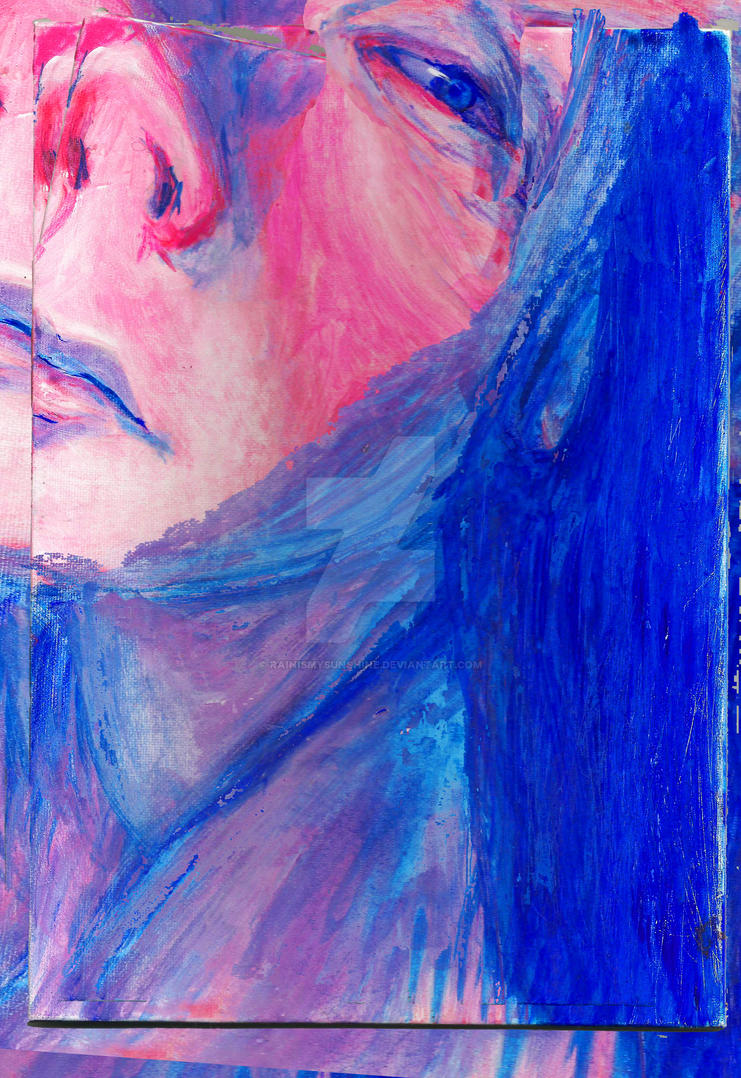 Fragmented canvas by rainismysunshine