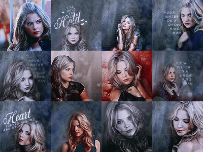 Ashley Benson Icons by elizacunningham