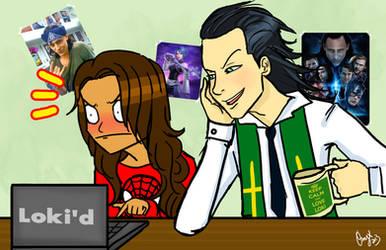 Loki trolls Onyx