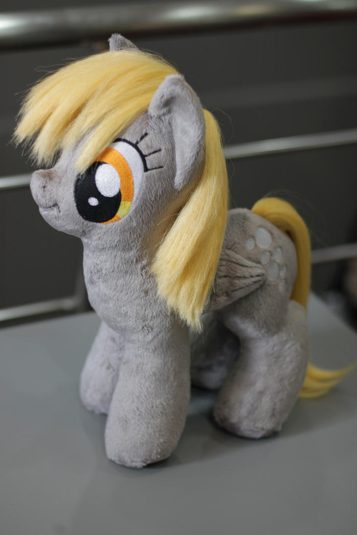 Brush-A-Plush Derpy Hooves plushie. by Zooher-Punkcloud