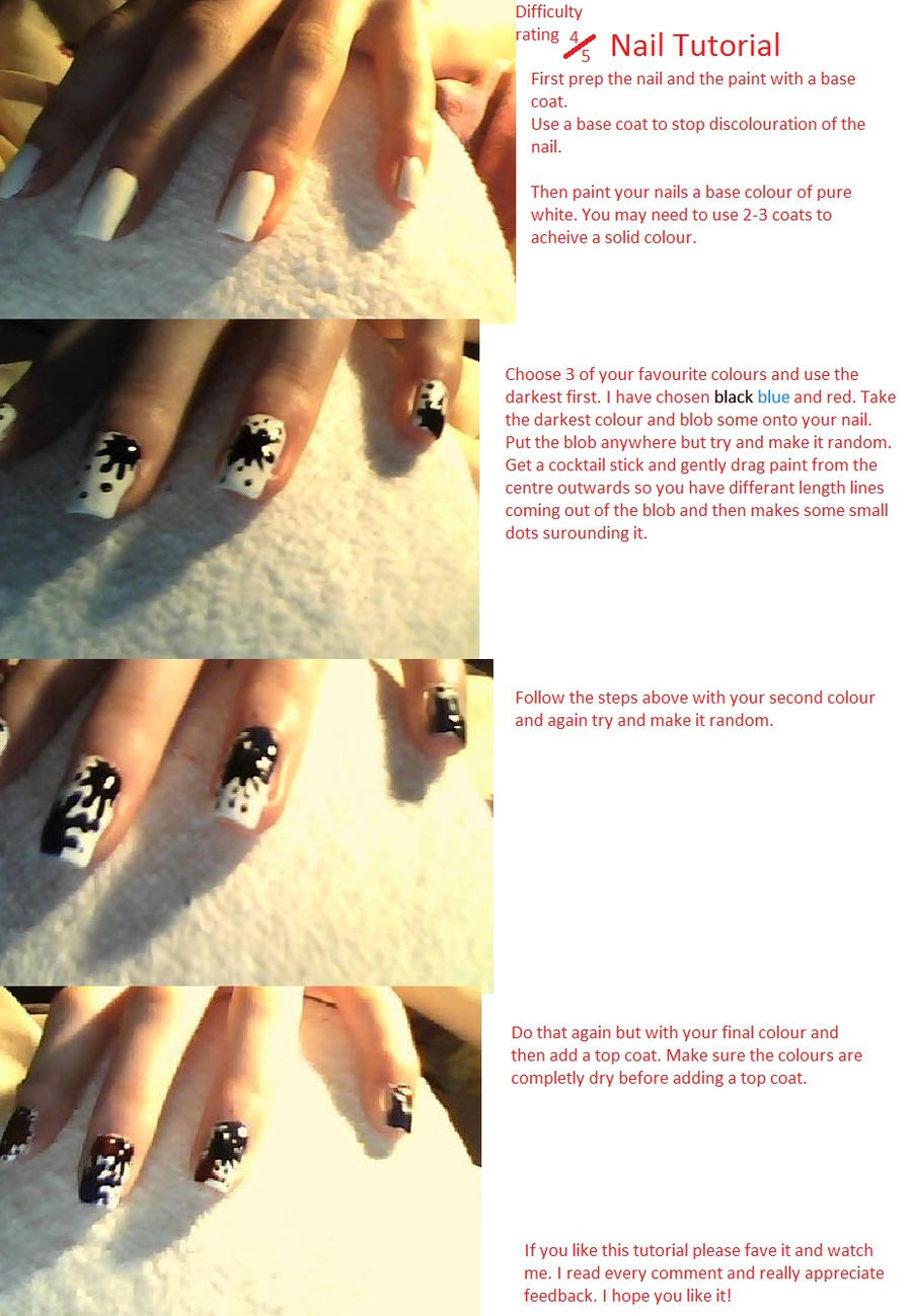 Nail Tutorial 2 by NAILART9