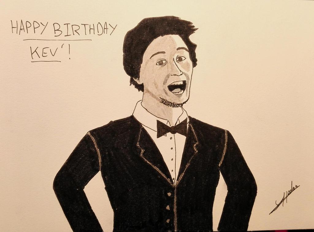 Happy Birthday Kev'! by Yann-Hedan