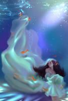 Mermaid Dina Saeva  by 8Hotaru8