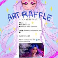 ART RAFFLE ON MY TWITTER !!! by HotaruSen