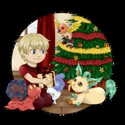 [Secret Santa] - Team Luis for Link..!! by TitePriscii