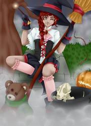 [Concours Halloween] - Abby !!! by TitePriscii