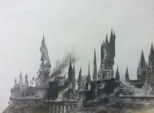 Hogwarts by TheStrengthToGoOn