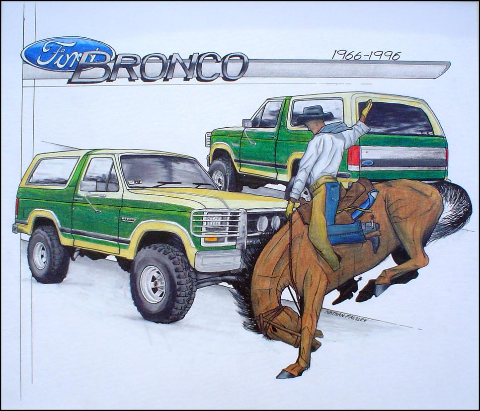 Ford Bronco 1966-1996 by ExCom
