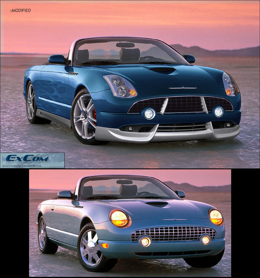 2003 Ford Thunderbird By ExCom On DeviantArt